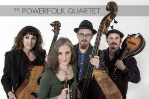 Lisa Fitzgibbon & the PowerFolk Quartet