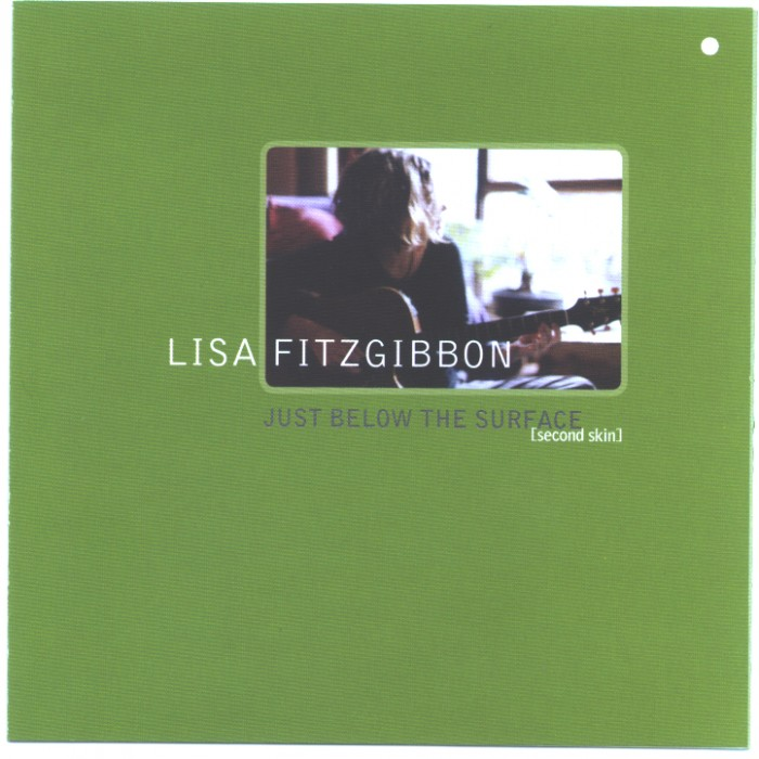 'Just Below the Surface' by Lisa Fitzgibbon- album cover