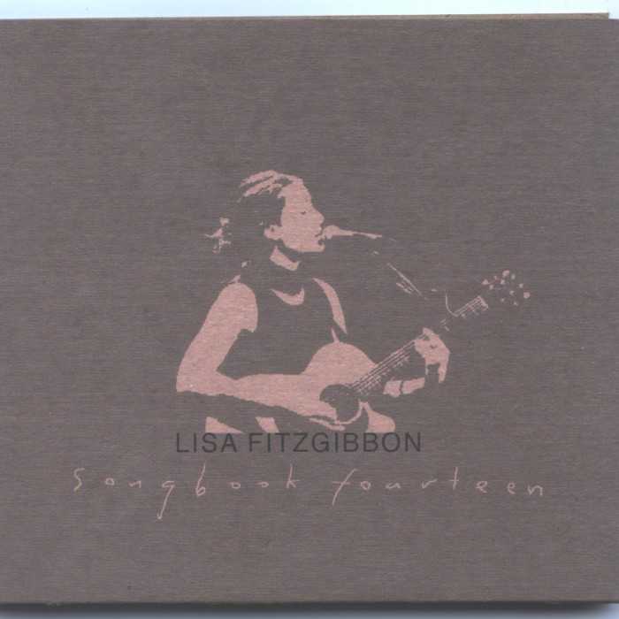 'Songbook 14' by Lisa Fitzgibbon- album cover
